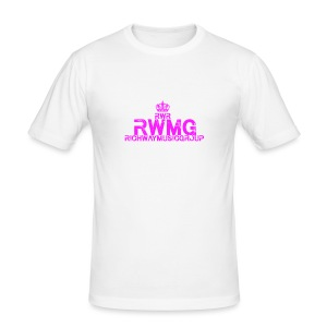 RWMG_Pink - slim fit T-shirt