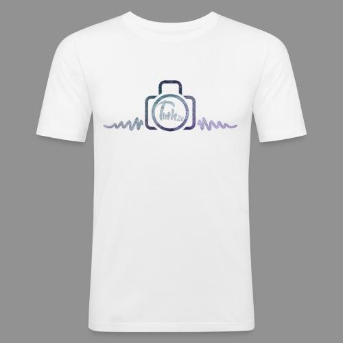 CAMERA LOGO - Men's Slim Fit T-Shirt