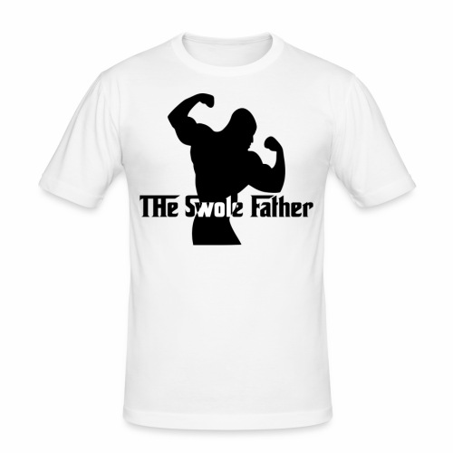 The Swole Father - Slim Fit T-shirt herr