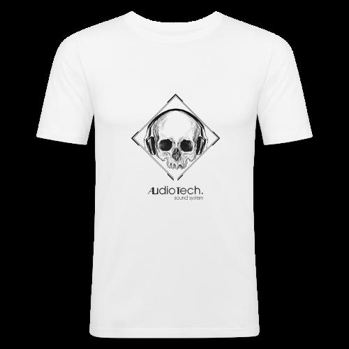 © Audiotech Skull - Männer Slim Fit T-Shirt