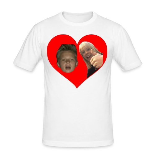 Sebber in love - Herre Slim Fit T-Shirt