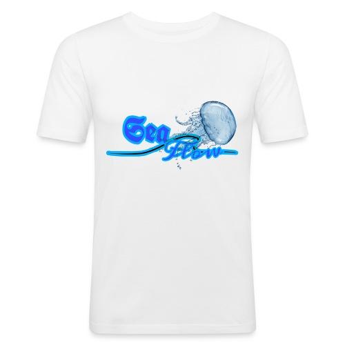 Sea Flow logo medusa abbigliamento - accessori - Maglietta aderente da uomo