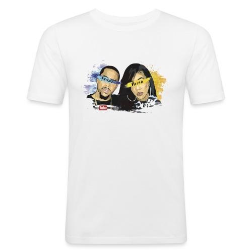 Daina and Ahmet - Men's Slim Fit T-Shirt