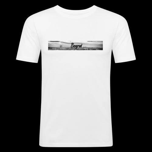 Volimo Beograd - Männer Slim Fit T-Shirt