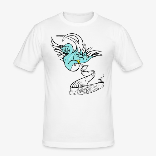 Golondrina - Camiseta ajustada hombre