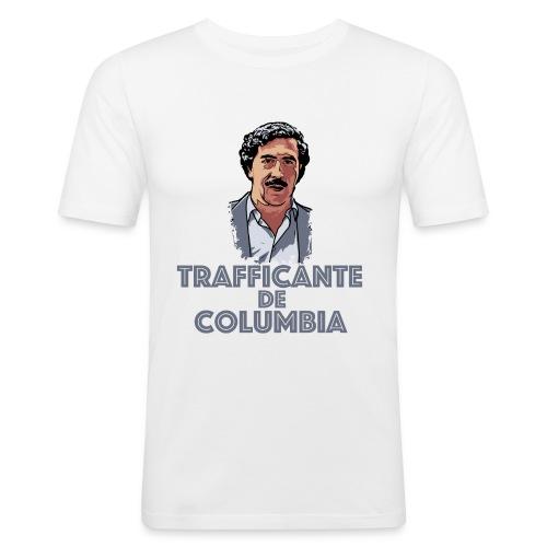 Pablo Escobar Narcos Kolumbien Columbia Business - Männer Slim Fit T-Shirt