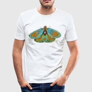 Psychedelic butterfly - Men's Slim Fit T-Shirt