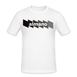 almanoFALLXFlash - Männer Slim Fit T-Shirt