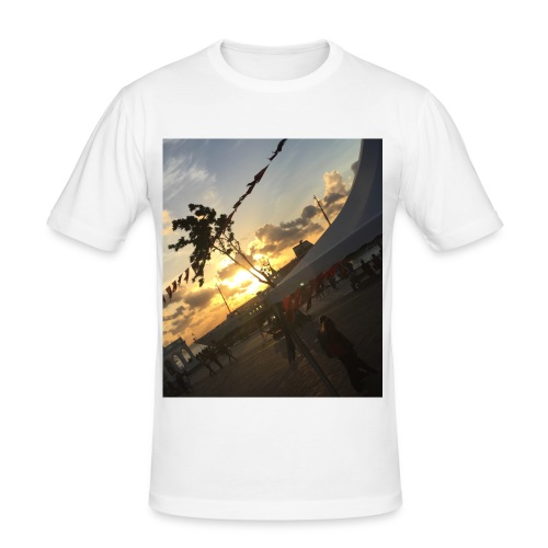 Sunsetlover - Männer Slim Fit T-Shirt