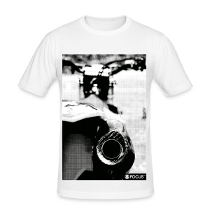 EXHAUST - Männer Slim Fit T-Shirt