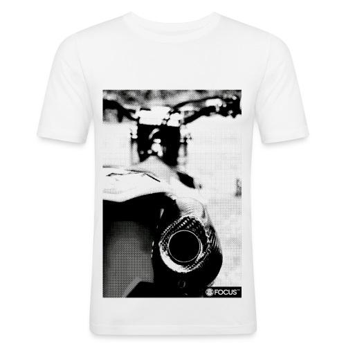 EXHAUST - Männer Slim Fit T-Shirt
