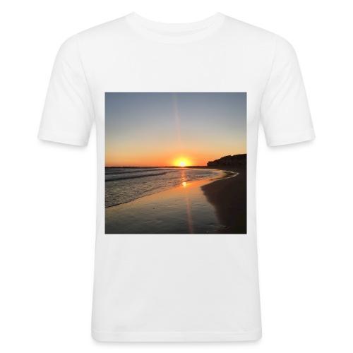 coucher de soleil - T-shirt près du corps Homme