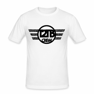 Official T2TB Logo - Männer Slim Fit T-Shirt
