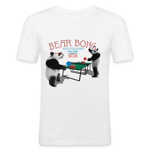 Bear Bong - Miesten tyköistuva t-paita