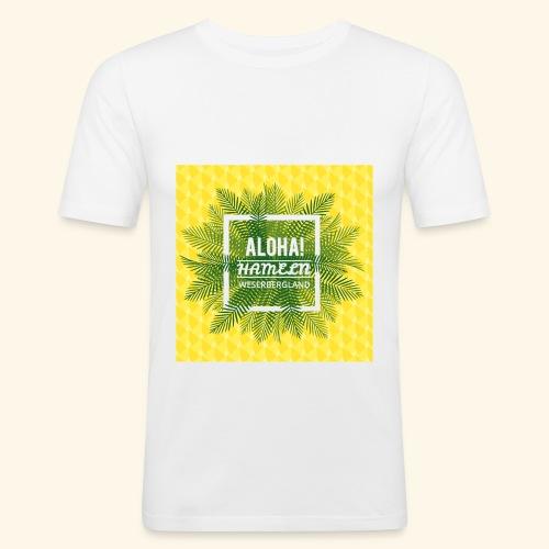 Sunshine Aloha Hameln   Es grüßt das Weserbergland - Männer Slim Fit T-Shirt