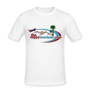 The Happy Wanderer Club - Men's Slim Fit T-Shirt