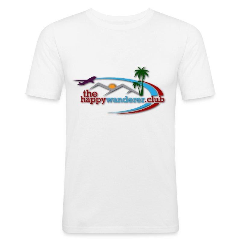 The Happy Wanderer Club - Men's Slim Fit T-Shirt