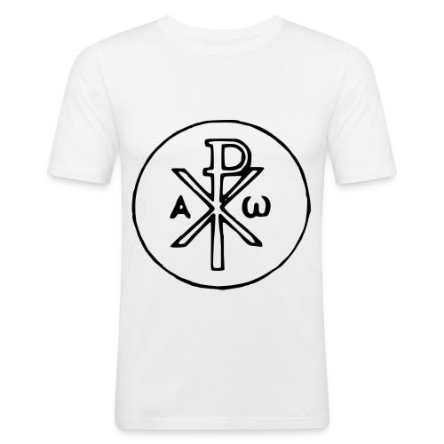 Chi Rho - Männer Slim Fit T-Shirt