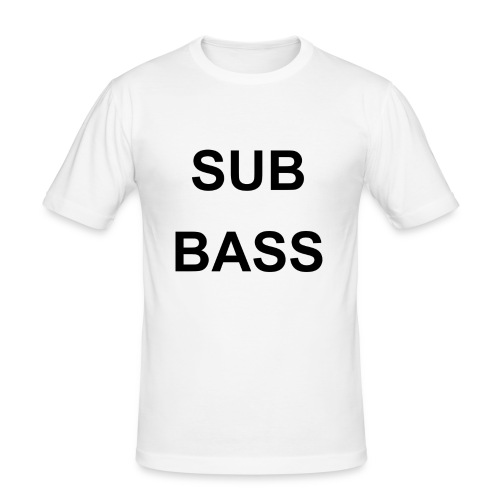 sub bass - slim fit T-shirt