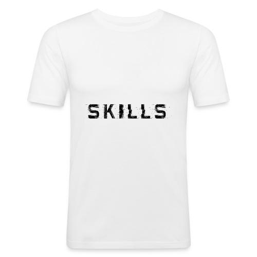 skills cloth - Maglietta aderente da uomo