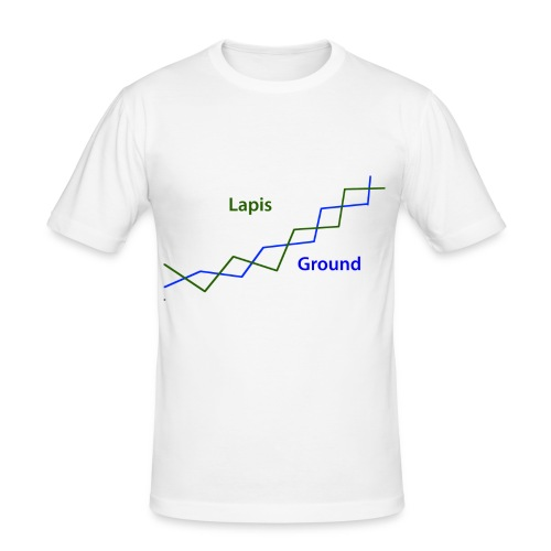 Zig-Zag T-Shirt - Men's Slim Fit T-Shirt