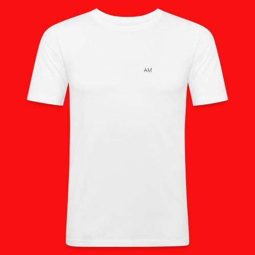 AM shirts - Men's Slim Fit T-Shirt