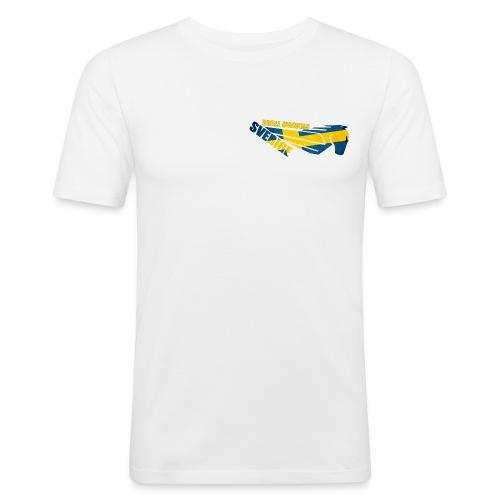 Buell Owners Sverige - Slim Fit T-shirt herr
