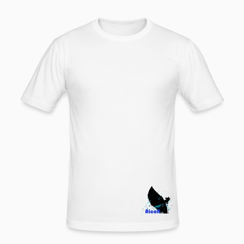 AicoN logo - Slim Fit T-skjorte for menn