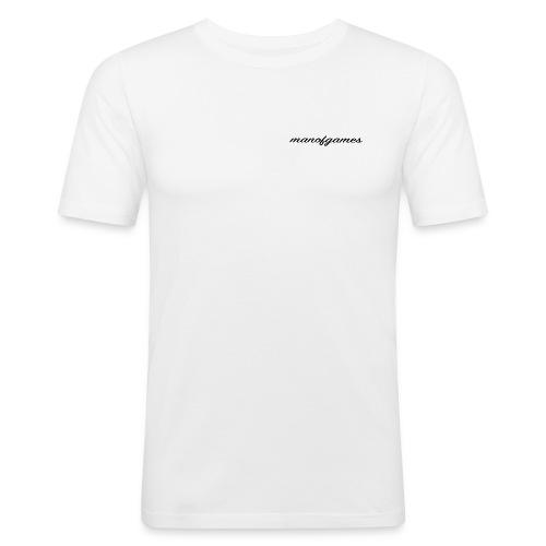 manofgames signature Standard Merch - Men's Slim Fit T-Shirt