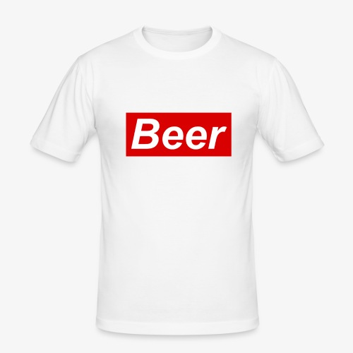 Beer. Red limited edition - slim fit T-shirt