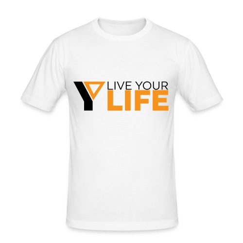 Original LiveYourLife - Männer Slim Fit T-Shirt