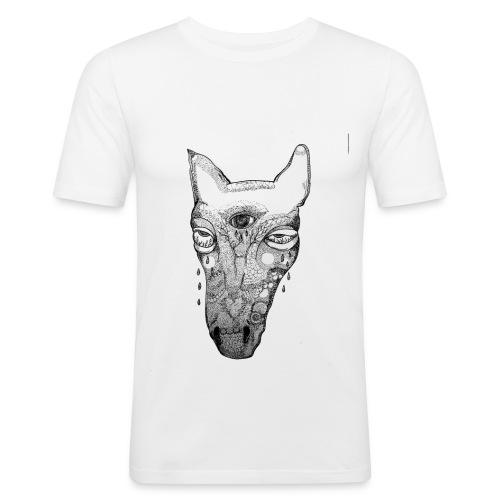T e a r s - Miesten tyköistuva t-paita