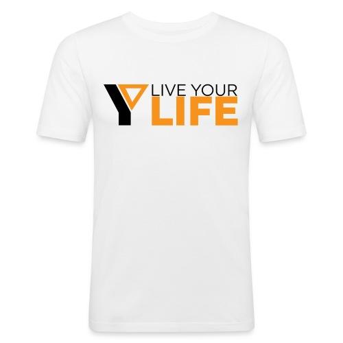 Original LiveYourLife - Männer Slim Fit T-Shirt