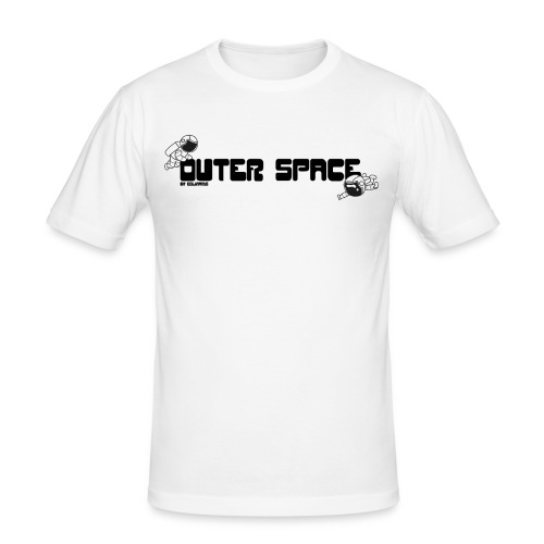 Outer Space - Männer Slim Fit T-Shirt