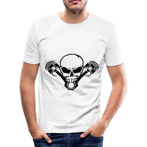Design 1 - Männer Slim Fit T-Shirt