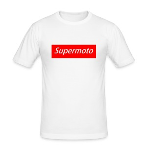 Supermoto Shirt - Männer Slim Fit T-Shirt