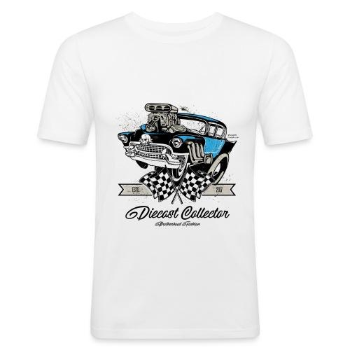 01 HW BrotherHood Logo DieCast Collector - Men's Slim Fit T-Shirt