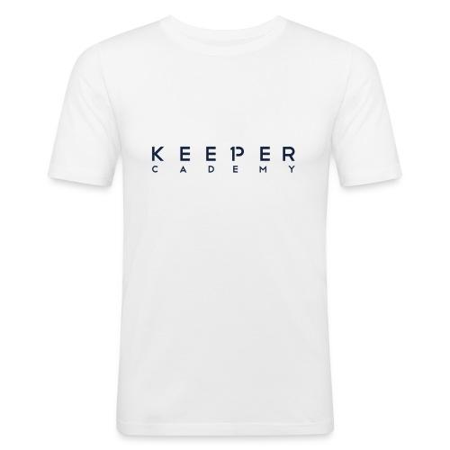 Schriftzug - Männer Slim Fit T-Shirt