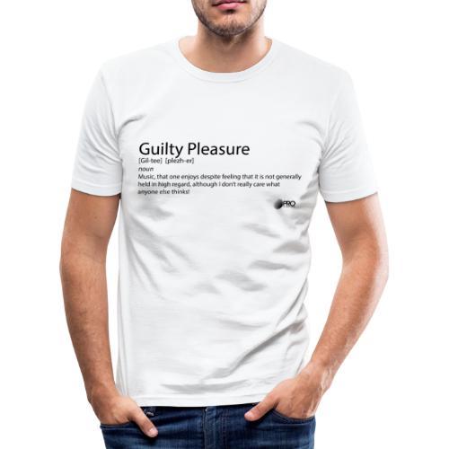 Guilty Pleasure - Men's Slim Fit T-Shirt
