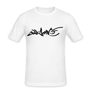 Saikone Graffiti Tagg - Männer Slim Fit T-Shirt