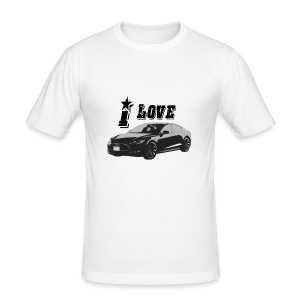 Tesla Model S - slim fit T-shirt