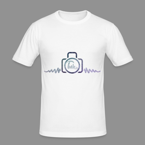 CAMERA LOGO - Men's Slim Fit T-Shirt