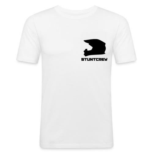 StuntCrewLogo - Männer Slim Fit T-Shirt