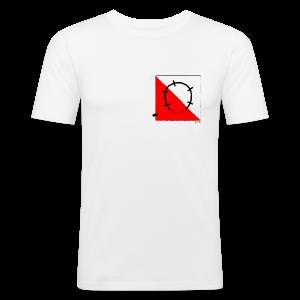 StitchPiggy Turning around You - Men's Slim Fit T-Shirt