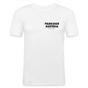 PKA_Font_black - Männer Slim Fit T-Shirt