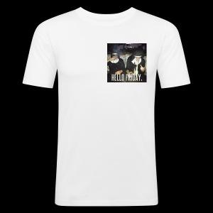 Hello Friday - Männer Slim Fit T-Shirt