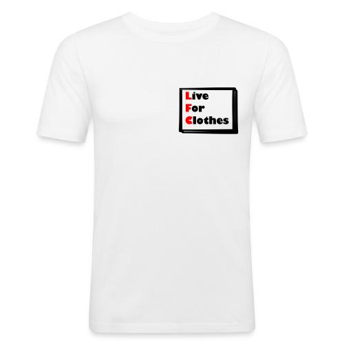 Simpler Design - Men's Slim Fit T-Shirt