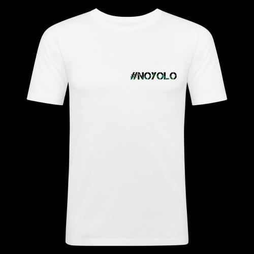 #NoYolo Kollektion - Männer Slim Fit T-Shirt