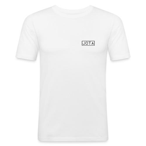 Jota Box Logo - Men's Slim Fit T-Shirt