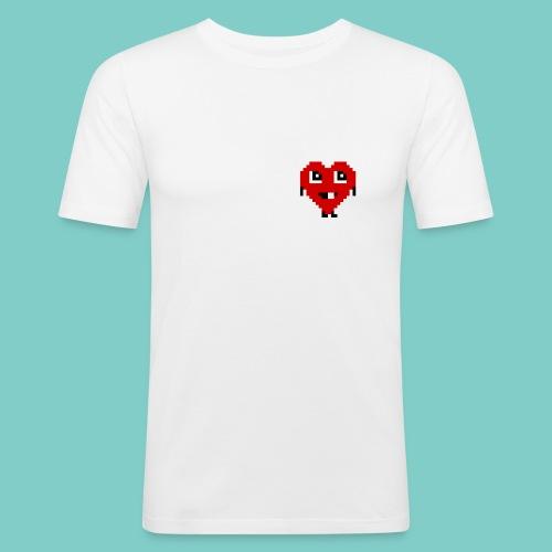 Coeur mignon - Tee shirt près du corps Homme